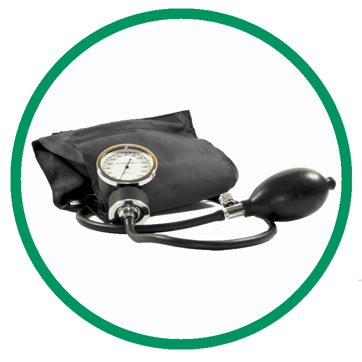 Blood Pressure Check Button