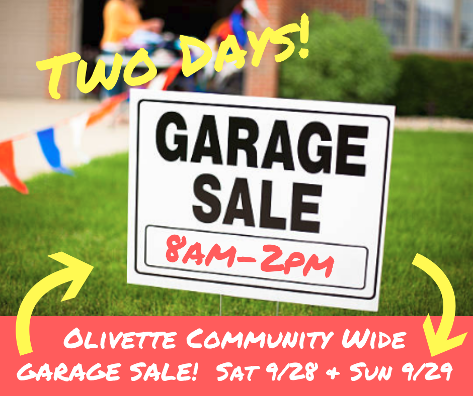 2019 2 day garage sale