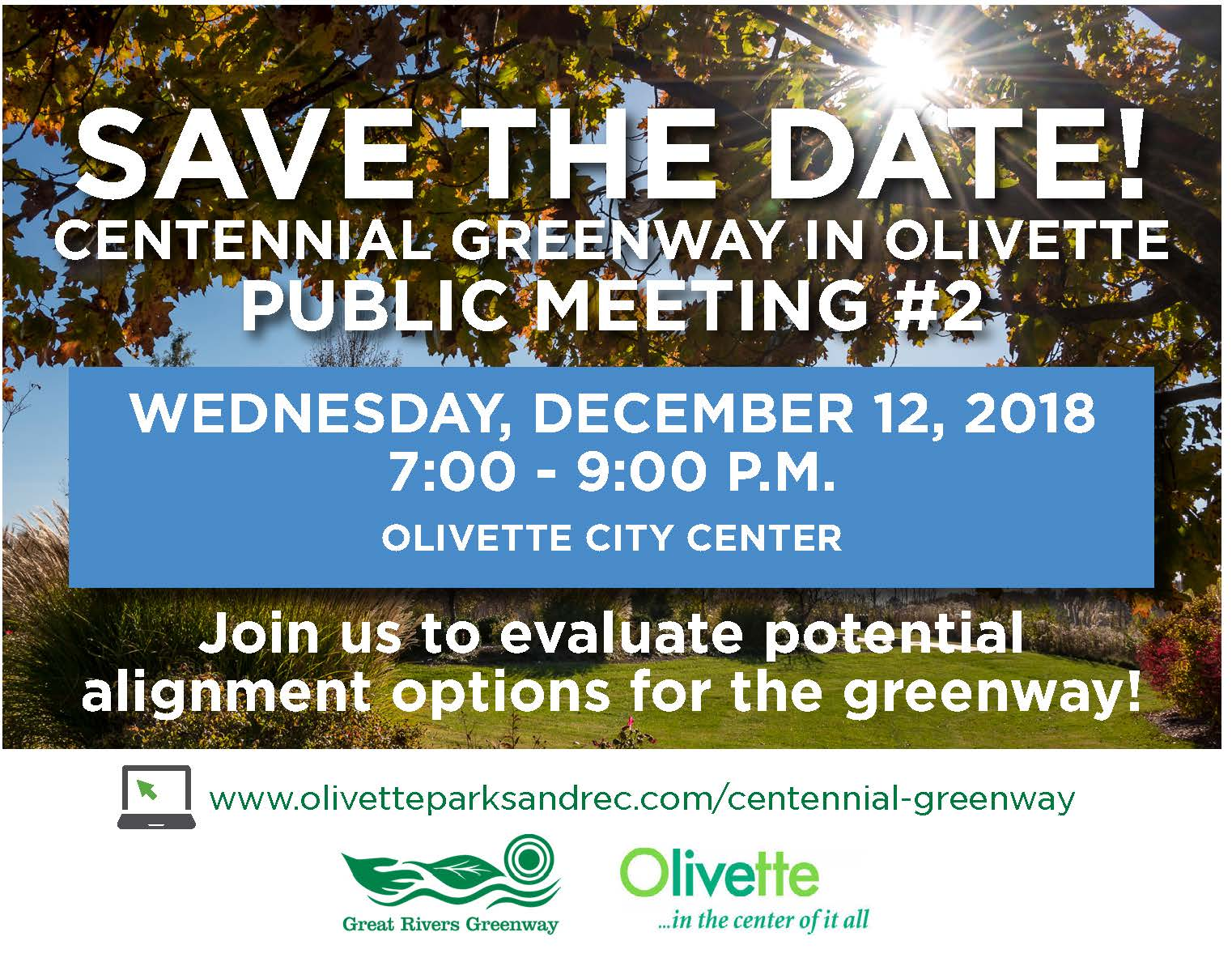 GRG_Centennial Greenway Save the Date 2018 1107V2